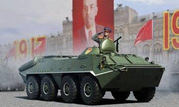 Russian BTR-70 APC early version · TRU 01590 ·  Trumpeter · 1:35