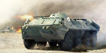 Russian BTR-70 APC late version · TRU 01591 ·  Trumpeter · 1:35
