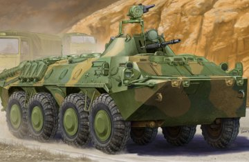 Russian BTR-70 APC in Afghanistan · TRU 01593 ·  Trumpeter · 1:35