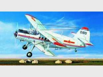 Antonov An-2 Colt / Nanchang Y-5 · TRU 01602 ·  Trumpeter · 1:72
