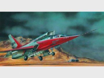 North American F-107 A Ultra Sabre · TRU 01605 ·  Trumpeter · 1:72