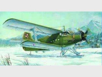 Antonov An-2M Colt mit Kufen · TRU 01607 ·  Trumpeter · 1:72