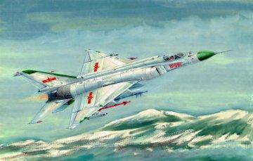 Shenyang F-8II ´´Finback´´ B · TRU 01610 ·  Trumpeter · 1:72
