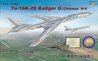 Tupolev Tu-16K 26 Badger · TRU 01612 ·  Trumpeter · 1:72
