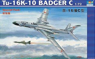 Tupolev Tu-16K 10 Badger · TRU 01613 ·  Trumpeter · 1:72