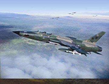 F-105G Thunderchief · TRU 01618 ·  Trumpeter · 1:72