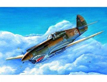 P-40B/C Warhawk · TRU 01632 ·  Trumpeter · 1:72