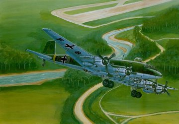 Focke-Wulf FW 200 C-4 Condor · TRU 01638 ·  Trumpeter · 1:72