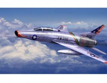 F-100C Super Sabre · TRU 01648 ·  Trumpeter · 1:72