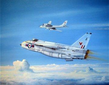British Electric (BAC) Lightning F.2A/F.6 · TRU 01654 ·  Trumpeter · 1:72