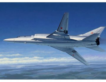 Tu-22M2 Backfire B Strategic bomber · TRU 01655 ·  Trumpeter · 1:72