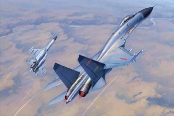 Chinese J-11B Fighter · TRU 01662 ·  Trumpeter · 1:72