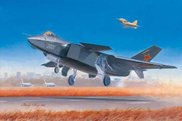 Chinese J-20 Fighter · TRU 01663 ·  Trumpeter · 1:72