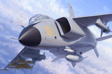 PLA JH-7A Flying Leopard · TRU 01664 ·  Trumpeter · 1:72