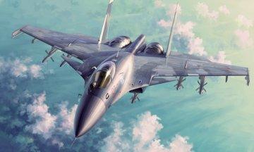 Russian Su-33 Flanker D · TRU 01667 ·  Trumpeter · 1:72