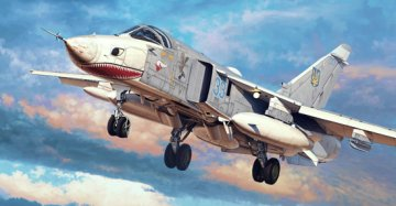 Su-24MR Fencer-E · TRU 01672 ·  Trumpeter · 1:72