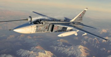 Su-24M Fencer-D · TRU 01673 ·  Trumpeter · 1:72
