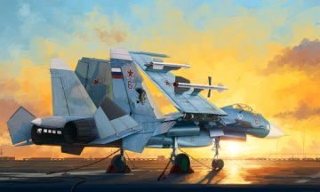 Russian Su-33 Flanker D · TRU 01678 ·  Trumpeter · 1:72