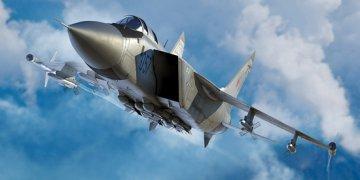 Russian MiG-31M Foxhound · TRU 01681 ·  Trumpeter · 1:72