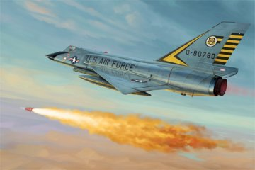 US F-106A Delta Dart · TRU 01682 ·  Trumpeter · 1:72