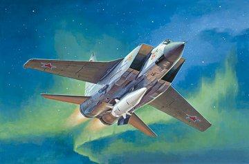 MiG-31BM.w/KH-47M2 · TRU 01697 ·  Trumpeter · 1:72