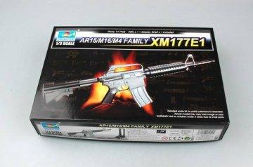 AR15/M16/M4 FAMILY-XM177E1 · TRU 01902 ·  Trumpeter · 1:3