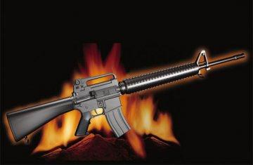 AR15/M16/M4 FAMILY-M16A3 · TRU 01911 ·  Trumpeter · 1:3