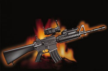 AR15/M16/M4 FAMILY-SR16 · TRU 01912 ·  Trumpeter · 1:3