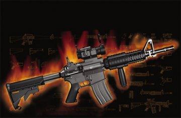 AR15/M16/M4 FAMILY-M933 · TRU 01917 ·  Trumpeter · 1:3