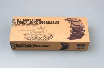 U.S. T85E1 track for M24 light tank (late) · TRU 02036 ·  Trumpeter · 1:35