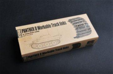 Panther D Workable Tracks links · TRU 02046 ·  Trumpeter · 1:35