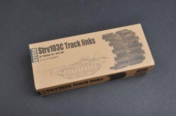 Strv103 late Track links · TRU 02056 ·  Trumpeter · 1:35