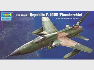 Republic F-105 D Thunderchief · TRU 02201 ·  Trumpeter · 1:32