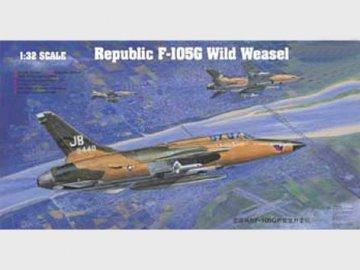 Republic F-105 G Wild Weasel · TRU 02202 ·  Trumpeter · 1:32