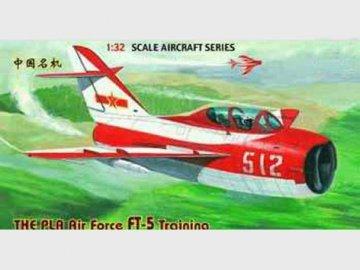 Chengdu FT-5 Trainer · TRU 02203 ·  Trumpeter · 1:32