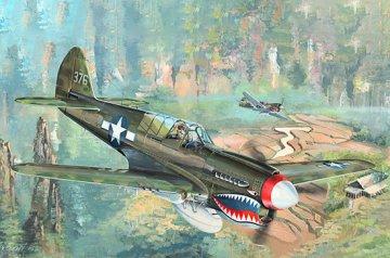 P-40N War Hawk · TRU 02212 ·  Trumpeter · 1:32
