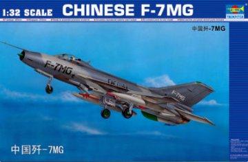 Chengdu F-7 MG · TRU 02220 ·  Trumpeter · 1:32