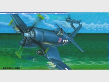 Vought F4U-4 Corsair · TRU 02222 ·  Trumpeter · 1:32