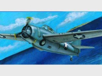 Grumman F4F-4 Wildcat · TRU 02223 ·  Trumpeter · 1:32