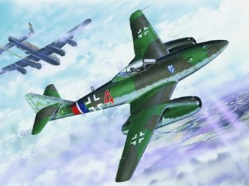 Messerschmitt Me 262 A-1a · TRU 02235 ·  Trumpeter · 1:32