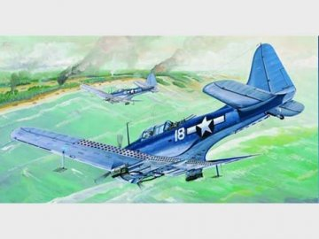 SBD-5/A-24B Dauntless US Navy · TRU 02243 ·  Trumpeter · 1:32