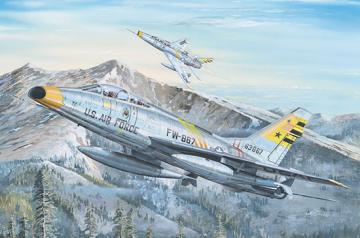 F-100F Super Sabre · TRU 02246 ·  Trumpeter · 1:32