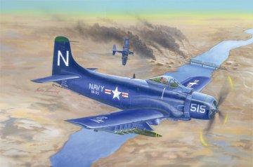 A-1D AD-4 Skyraider · TRU 02252 ·  Trumpeter · 1:32