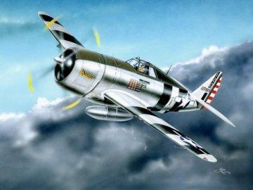 P-47D Razorback Fighter · TRU 02262 ·  Trumpeter · 1:32