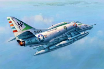 A-4E Sky Hawk · TRU 02266 ·  Trumpeter · 1:32