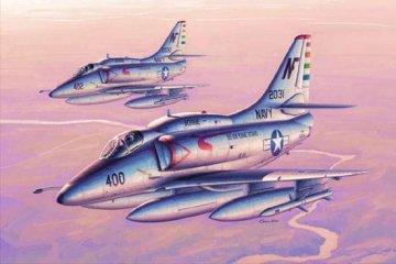 A-4F Skyhawk · TRU 02267 ·  Trumpeter · 1:32