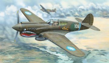 P-40E War Hawk · TRU 02269 ·  Trumpeter · 1:32