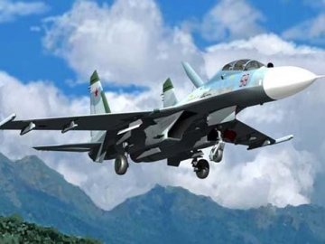 Su-27UB Flanker-C · TRU 02270 ·  Trumpeter · 1:32
