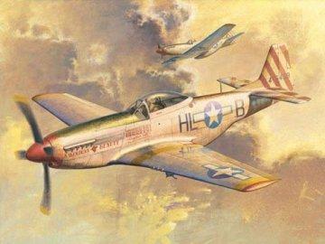 P-51D Mustang · TRU 02275 ·  Trumpeter · 1:32