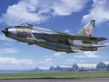 English Electric(BAC) Lightning F.2A/F.6 · TRU 02281 ·  Trumpeter · 1:32
